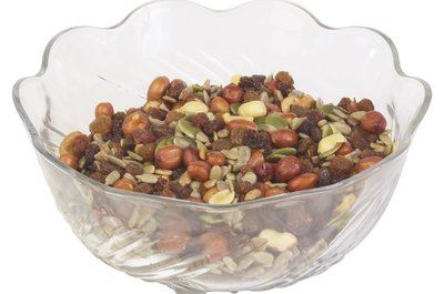 Trail mix is both nutrient-rich and energy-dense.