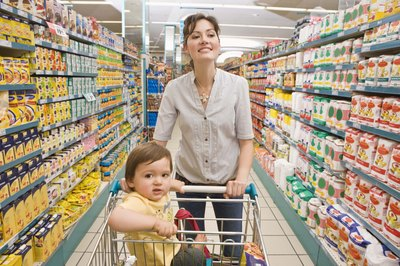 Smart shopping saves you money on groceries.