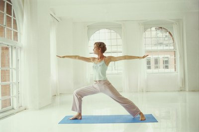 Warrior II pose can teach you how to relax your upper trapezius.