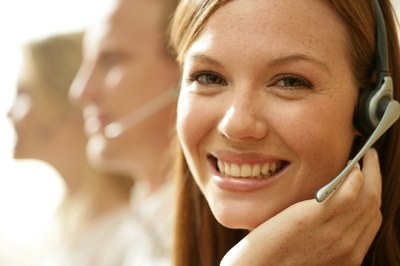 Successful lead generators smile when they talk to customers over the phone.