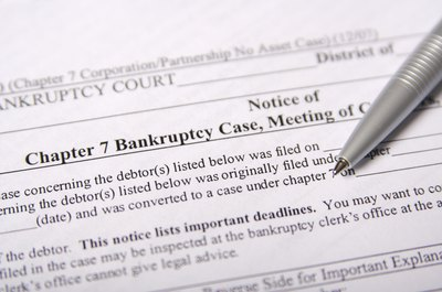 How to Cancel a Bankruptcy After It's Been Filed