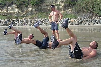 Only the top 20% of BUD/S candidates ever become Navy SEALs.