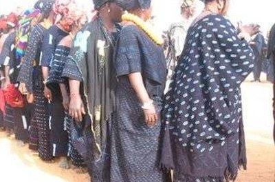 Dogon People in Mali wearing indigo courtesy of Google Images
