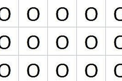 3x5 Grid