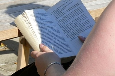 Dive into a good book and improve left-brain functioning.