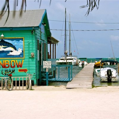 All the food is just amazing! Rainbow Bar & Grill, Caye Caulker, Belize