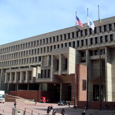 Boston City Hall.