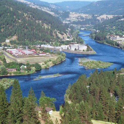 Clearwater River near Orofino, Idaho