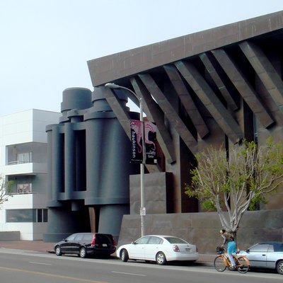 The Chiat/Day Building (1991), by Frank Gehry, in Venice, California.