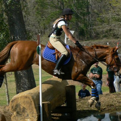 Cross-country at Red Hills Horse Trials, Tallahassee FL, USA
