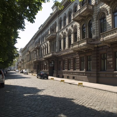 The Londonskaya Hotel, on Odessa's magnificent Primorsky Bulvar, is one of the city's landmark buildings.
