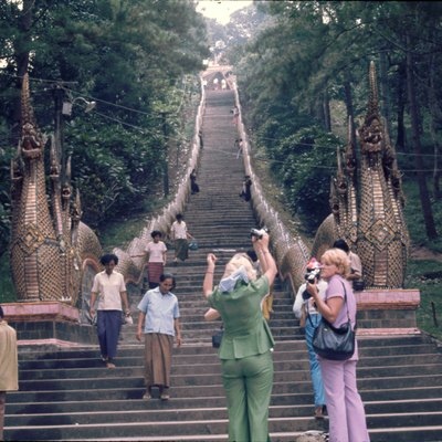 One Thousand Steps In Chiang Mai, Thailand