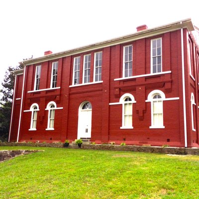 The 1888 courthouse for Tishomingo County, Mississippi in Iuka Mississippi.