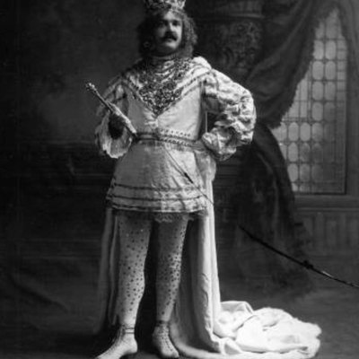 Orville Cawthon, 1909 King Felix of Mobile Mardi Gras