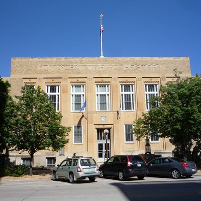 Old City Hall of Rochester, Minnesota, USA. .