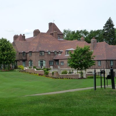 Cargill Lake Office, Occupying A Former Mansion, Houses The Offices Of The Giant Multi-National Corporation'S Top Executives And Sits On The Campus Of The Corporate Headquarters In Minnetonka, Minnesota, Usa.