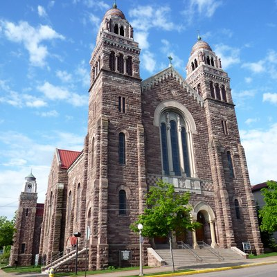 St. Peter Cathedral, Marquette, Michigan, Usa.