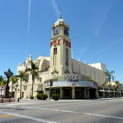 The Fox Theater, Bakersfield, California, USA.