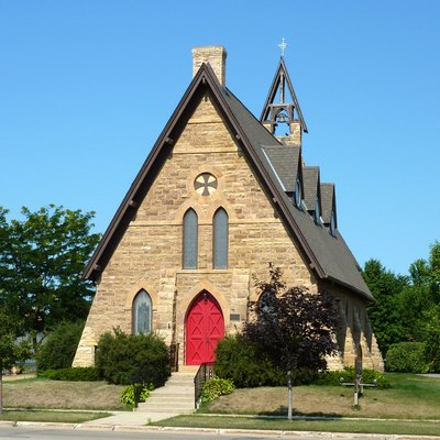 Church Of The Holy Communion-Episcopal, St. Peter, Minnesota, Usa.