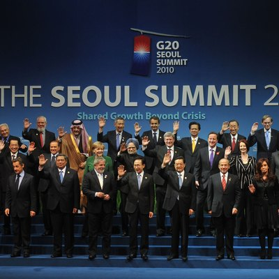 Korea was the first chair of the G-20 during the 2010 Seoul summit