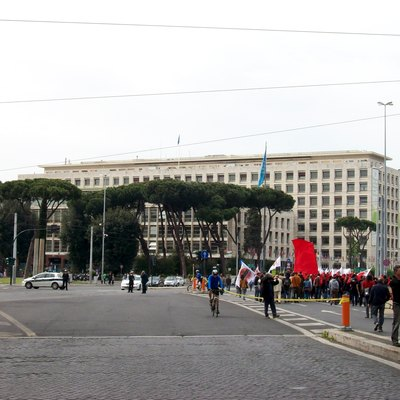 The FAO Headquarter in Rome