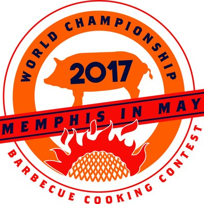 This is the 2017 logo for the World Championship Barbecue Cooking Contest, an entity of Memphis in May International Festival.