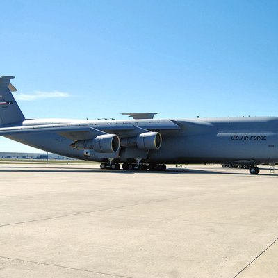 The C-5 Galaxy is the largest aircraft in the Air Force inventory. The Alamo Wing operates and maintains 16 of the giants at Lackland Air Force Base. In addition to flying missions in support of global requirements, the 433rd Airlift Wing is also home to the C-5 Formal Training unit and trains the future air crews for active duty, Air National Guard and the Air Force Reserve. (U.S. Air Force Photo/Senior Airman Viola Hernandez)