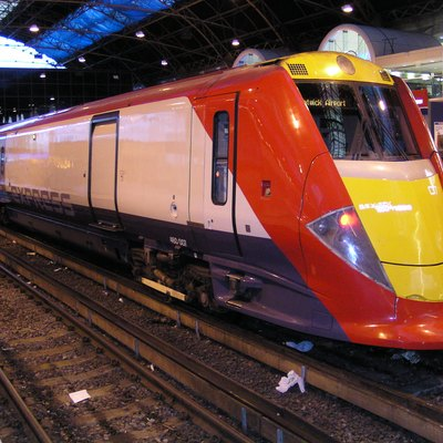 The Gatwick Express at Victoria in 2003