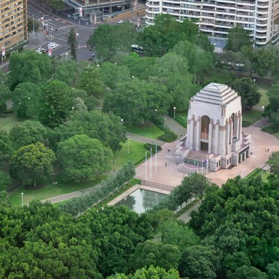 Anzac War Memorial in Sydney's Hyde Park