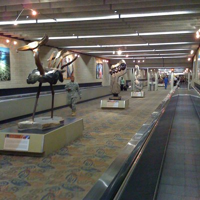 Atlanta Airport Transportation Mall
