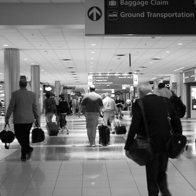 Interior of Hartsfield-Jackson Atlanta International Airport