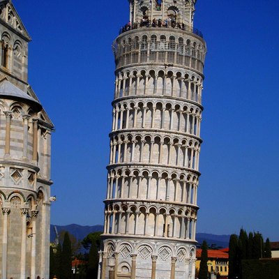 A Classical View of Leaning Tower in Pisa