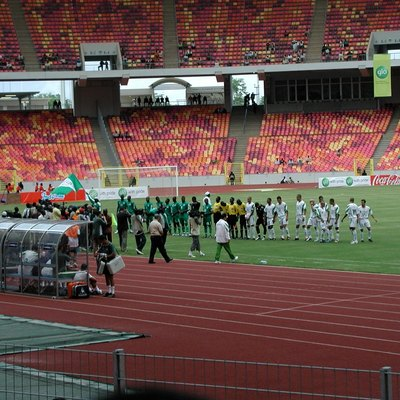 Abuja Stadium, match between Nigeria and Algeria on 4th July 2004