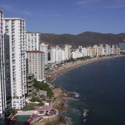 Beach at Acapulco, Mexico