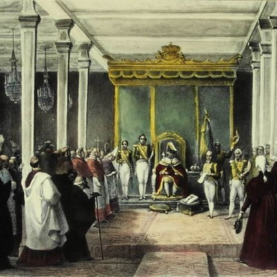 The Acclamation of King Dom João VI of the United Kingdom of Portugal, Brazil and the Algarves