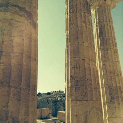 Acropolis in Athen, Greece.