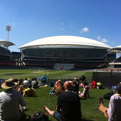 Image of the Adelaide Oval during the 2014 cricket test match - Australia v. India. December 2014