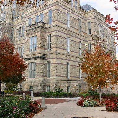 Adelbert Hall, Case Western Reserve University, Cleveland, Ohio, Usa