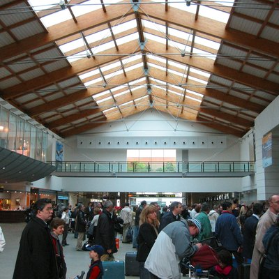 Interior Of The Airport Of Venice, Italy