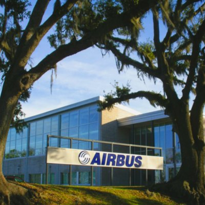 The Airbus Mobile Engineering Center in Mobile, Alabama.