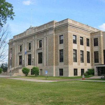 W:Aitkin County Courthouse In W:Aitkin, Minnesota.