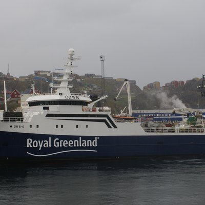 Royal Greenland fishing vessel
