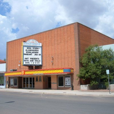 Flickinger Center for Performing Arts in Alamogordo, New Mexico, located at 1110 New York Avenue.
