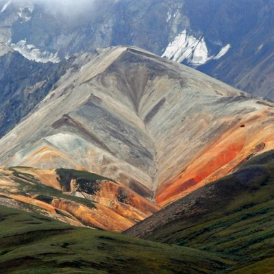Denali National Park - Polychrome Mountains