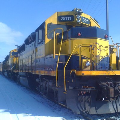 Alaska Railroad Locomotive