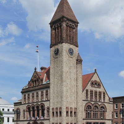 City Hall Of Albany, New York.