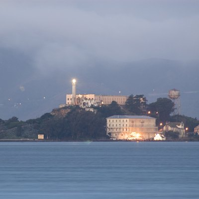 Alcatraz from Treasure Island, 01/07/2005 7am