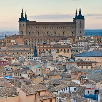 The Alcázar of Toledo, Spain.