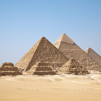 The ancient pyramids of Egypt