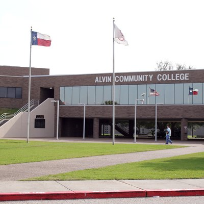 Alvin Community College A Building.